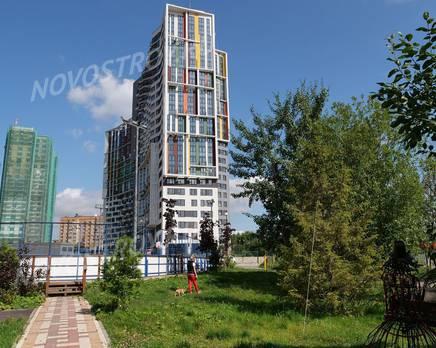 ЖК «Новая Звезда» (Газопровод): ход строительства, Сентябрь 2019