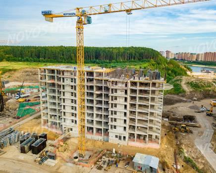 Квартал «Новые Котельники»: ход строительства, Сентябрь 2019
