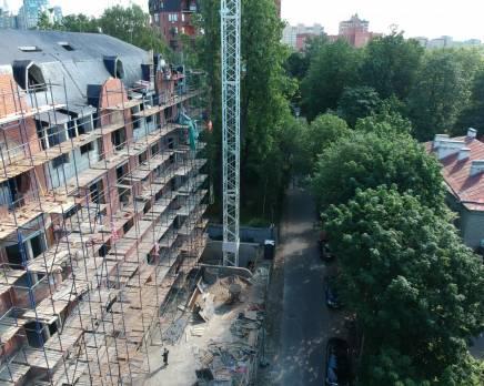 ЖК «на Костромском проспекте, 45, литера А»: ход строительства, Сентябрь 2019