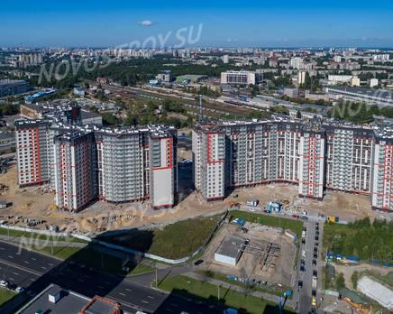 ЖК «Дом на Блюхера»: ход строительства, Октябрь 2019