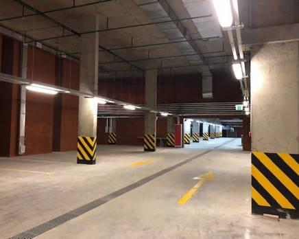 ЖК «Маршал»: ход строительства паркинга, Октябрь 2019