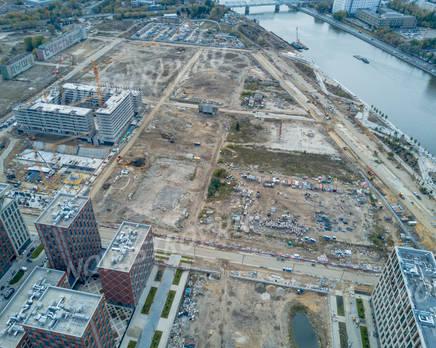 ЖК «ЗИЛАРТ»: ход строительства дома №11-15, Октябрь 2019