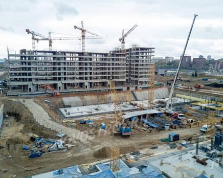 ЖК «ЗИЛАРТ»: ход строительства дома №16-17, Октябрь 2019