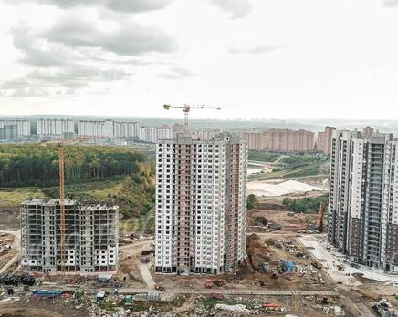Квартал «Новые Котельники»: ход строительства, Октябрь 2019