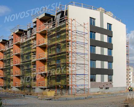 МЖК «Inkeri»: ход строительства 4 очереди, Октябрь 2019