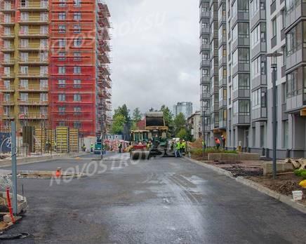 ЖК «Tarmo»: ход строительства 1 очереди, Октябрь 2019