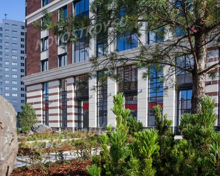 ЖК «Bau Haus»: ход строительства, Октябрь 2019