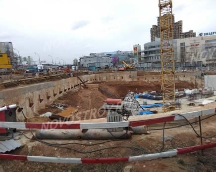 ЖК «ВернадSKY»: ход строительства (апрель 2019), Октябрь 2019