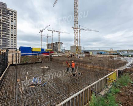ЖК «Новое Медведково»: ход строительства корпуса №14, Октябрь 2019