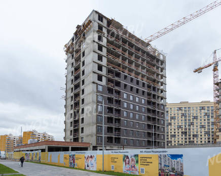 ЖК «Новое Медведково»: ход строительства корпуса №19, Октябрь 2019