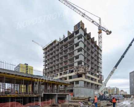 ЖК «Новое Медведково»: ход строительства корпуса №20, Октябрь 2019