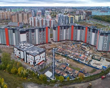 ЖК «Дом на Блюхера»: ход строительства, Ноябрь 2019