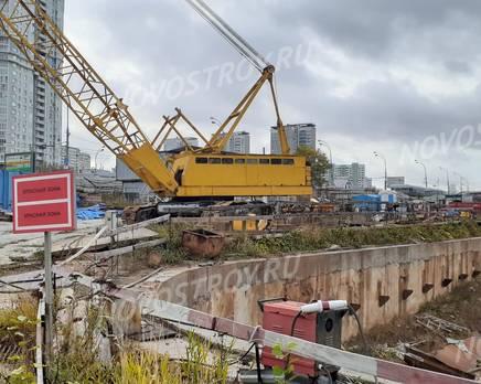 ЖК «ВернадSKY»: ход строительства, Ноябрь 2019