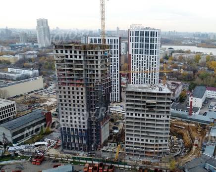 ЖК «Невский»: ход строительства корпуса №5, Ноябрь 2019