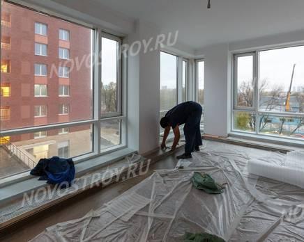 ЖК «SREDA»: ход строительства 2 очереди, Ноябрь 2019