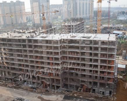 ЖК «Новоград «Павлино»: ход строительства корпуса №16, Ноябрь 2019