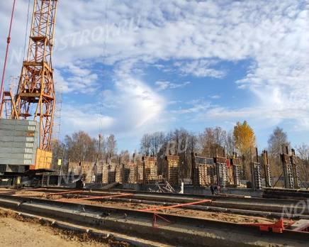 ЖК «Серебро»: ход строительства, Ноябрь 2019