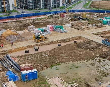 МЖК «Inkeri»: ход строительства 2 этапа, Ноябрь 2019