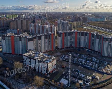 ЖК «Дом на Блюхера»: ход строительства, Декабрь 2019