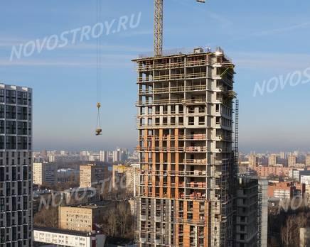ЖК «Невский»: ход строительства корпуса №5, Декабрь 2019