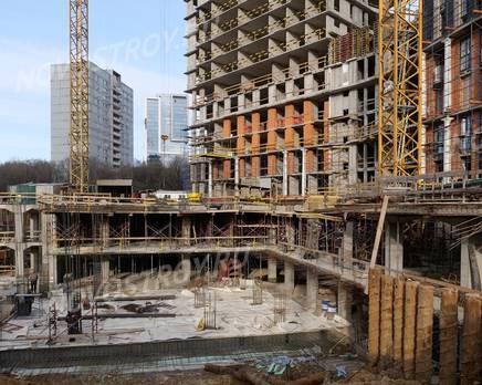 ЖК «Невский»: ход строительства корпуса №5-6, Декабрь 2019