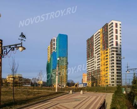 ЖК «Новая Звезда» (Газопровод): ход строительства корпуса №7,8, Декабрь 2019