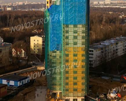 ЖК «Новая Звезда» (Газопровод): ход строительства корпуса №8, Декабрь 2019
