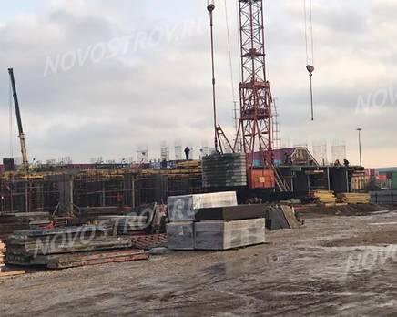 ЖК «Серебро»: ход строительства, Декабрь 2019