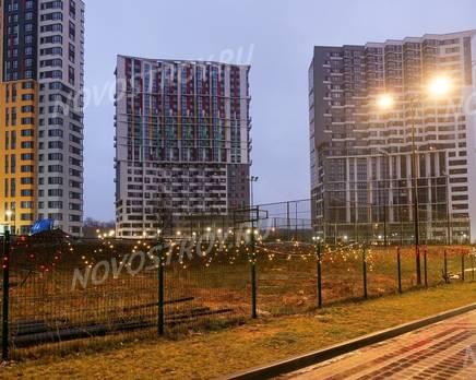 ЖК «Новая Звезда» (Газопровод): ход строительства корпуса №5,6,7, Январь 2020