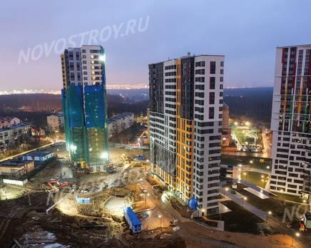 ЖК «Новая Звезда» (Газопровод): ход строительства корпуса №6,7,8, Январь 2020