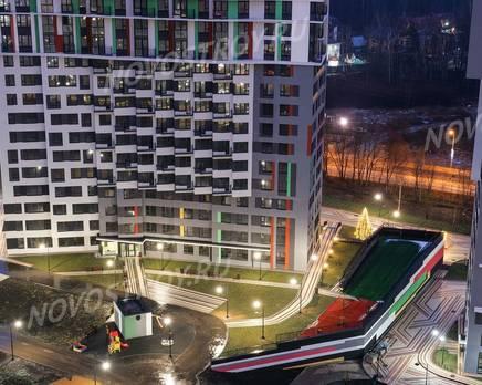 ЖК «Новая Звезда» (Газопровод): ход строительства корпуса №7,8, Январь 2020