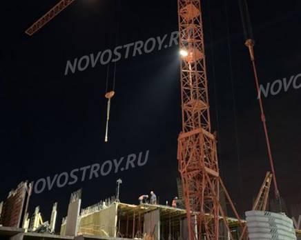 ЖК «Серебро»: ход строительства, Январь 2020