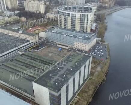 МФК «Neva Sky»: скриншот с видеообзора, Январь 2020