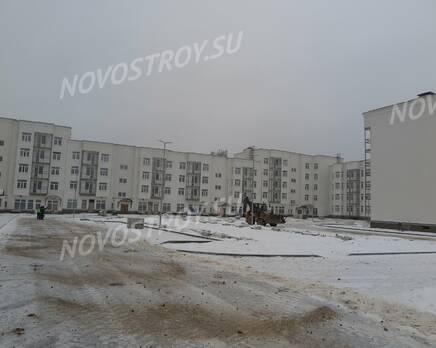 МЖК «Новое Сертолово»: ход строительства 2 очереди, Февраль 2020