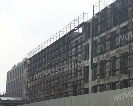 МФК Narva Loft: ход строительства, Февраль 2020