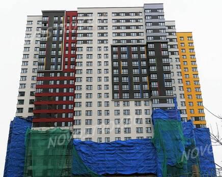 ЖК «Новая Звезда» (Газопровод): ход строительства корпуса №8, Февраль 2020