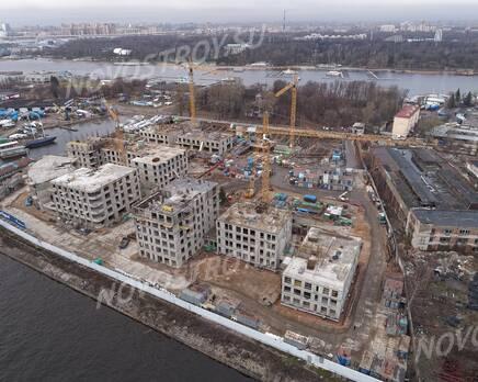 ЖК «Петровская доминанта»: ход строительства, Февраль 2020