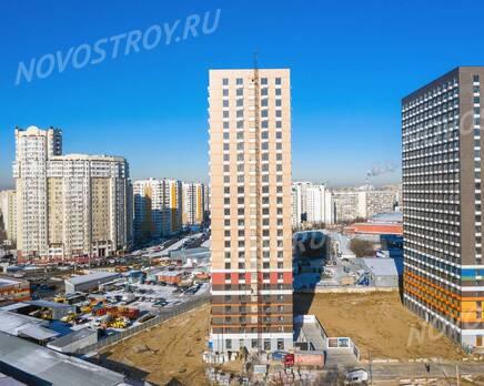 ЖК «Жулебино парк»: ход строительства корпуса №1, Февраль 2020