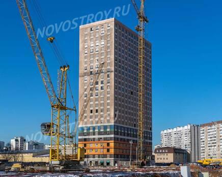 ЖК «Жулебино парк»: ход строительства корпуса №6, Февраль 2020