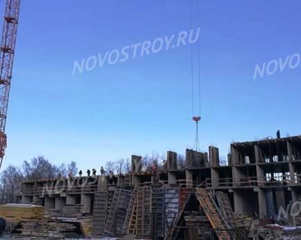 ЖК «Серебро»: ход строительства, Февраль 2020