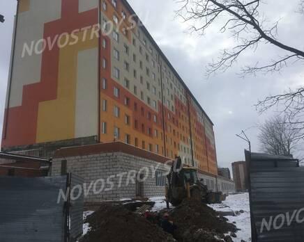 ЖК «Волхов»: ход строительства, Февраль 2020
