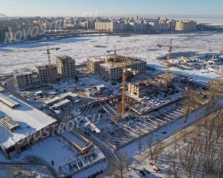 ЖК «Петровская доминанта»: ход строительства, Март 2020