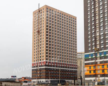 ЖК «Жулебино парк»: ход строительства корпуса №1, Март 2020