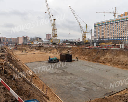 ЖК «Жулебино парк»: ход строительства корпуса №5.2, Март 2020