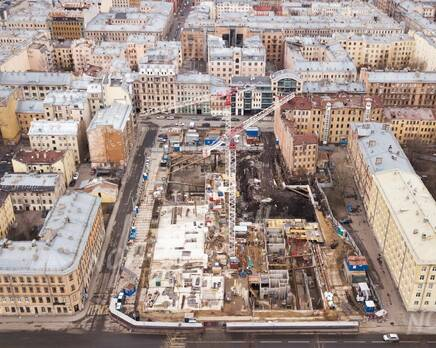 ЖК «Grand House»: ход строительства, Март 2020