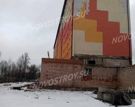 ЖК «Волхов»: ход строительства, Март 2020