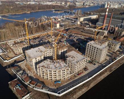 ЖК «Петровская доминанта»: ход строительства, Апрель 2020