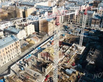 ЖК «Grand House»: ход строительства, Апрель 2020
