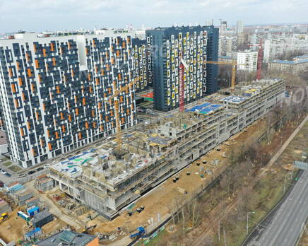 ЖК «Летний сад»: ход строительства, Май 2020