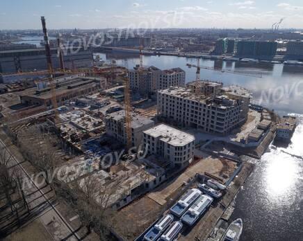 ЖК «Петровская доминанта»: ход строительства, Май 2020